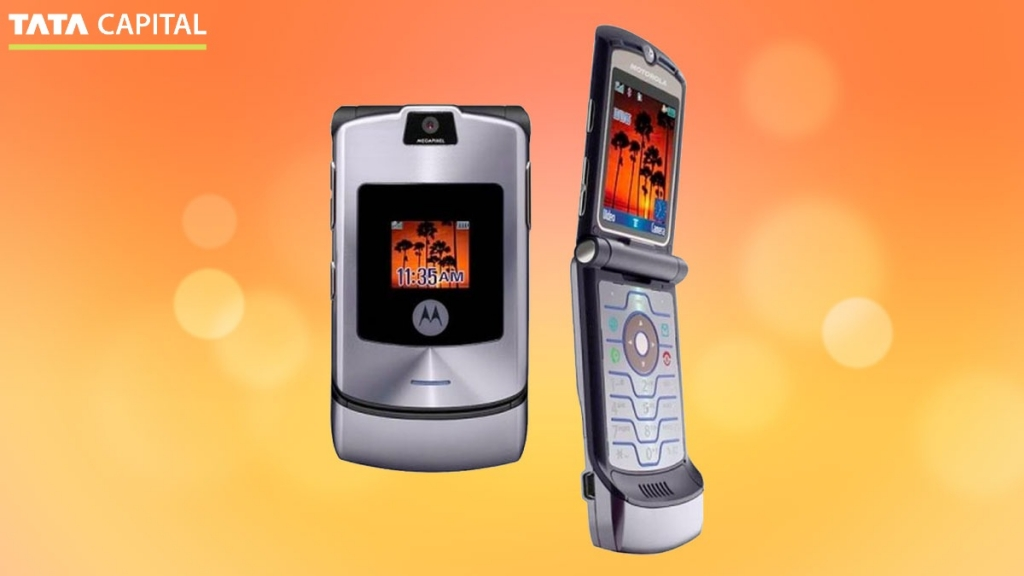 Motorola Razor Folding Screen